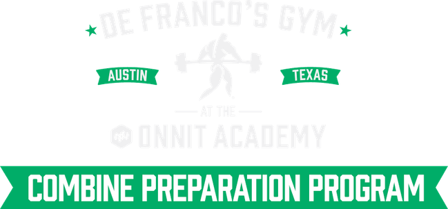 DeFranco's Gym at the Onnit Academy Combine Preparation Program