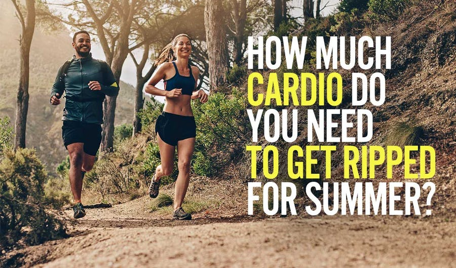 How Much Cardio Do You Need To Get Ripped For Summer?