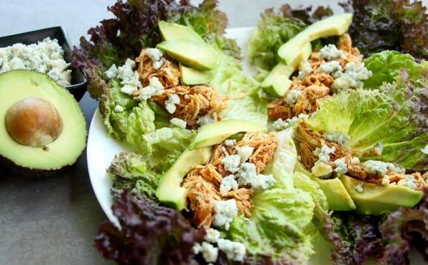 Keto-Friendly Lettuce Wraps