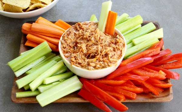 Slow-Cooked Shredded Buffalo Chicken