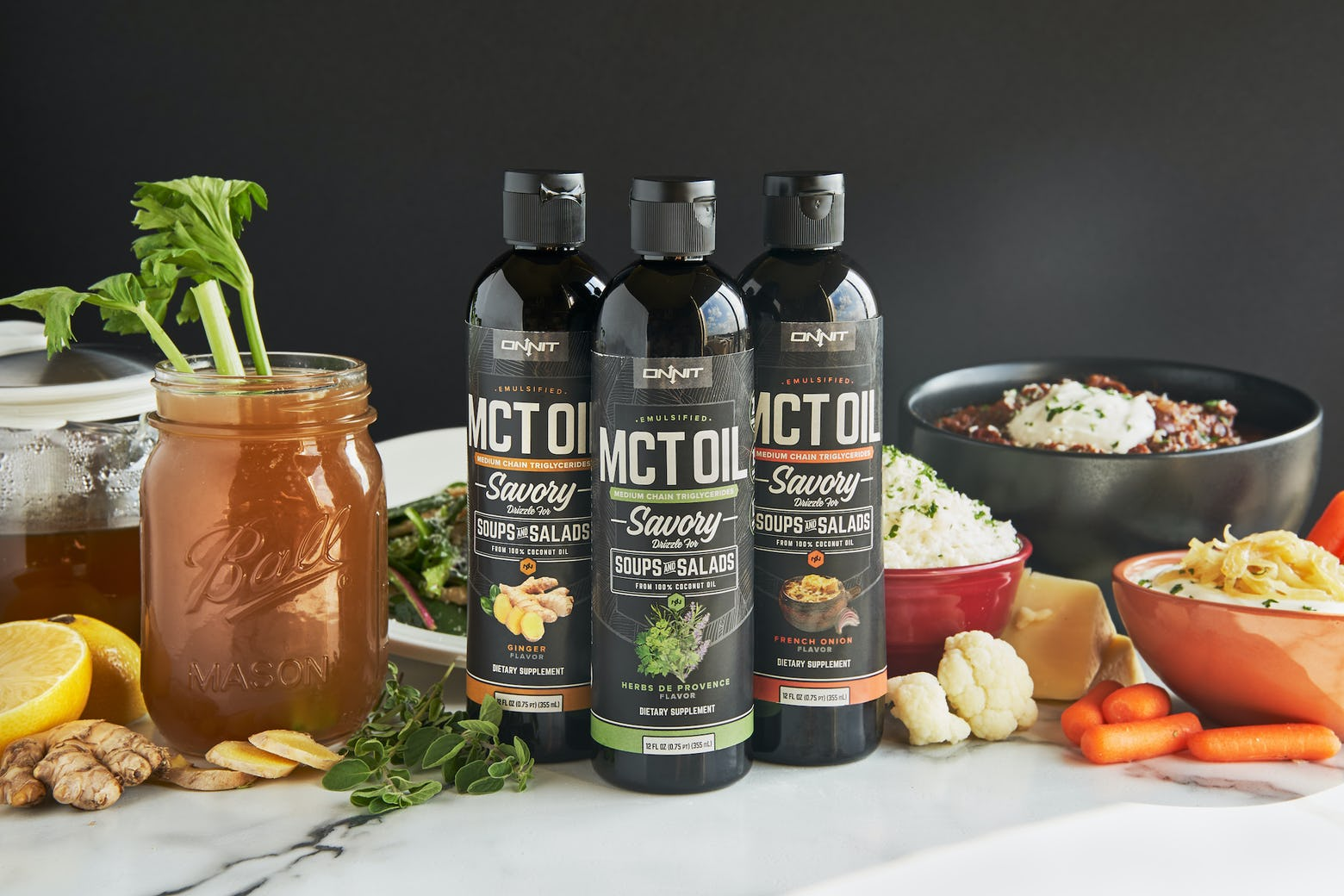 MCT Oil isn't just for Coffee Any More! Savory Emulsified MCT Oil Recipes