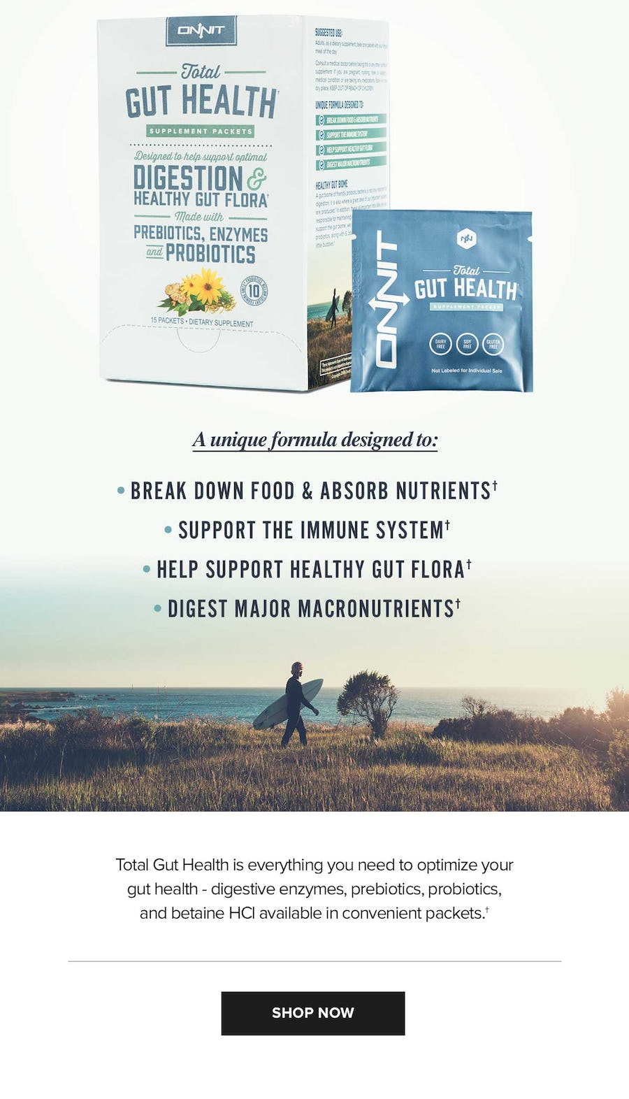 Onnit's Total Gut Health
