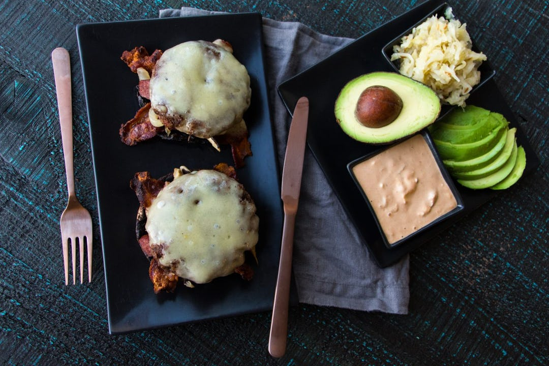 Lunch Elk Recipes Keto Open Face 4 Meat Burger Melt Onnit Academy
