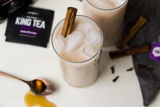 purple thai iced tea