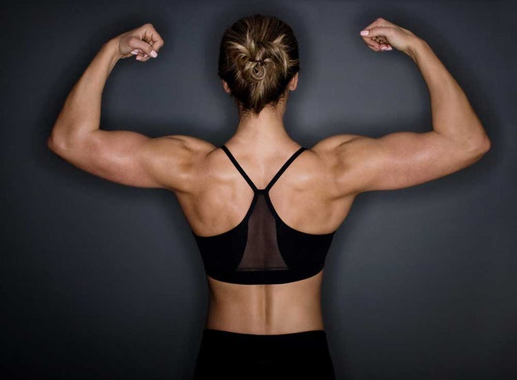 Fit Women Toned Arms : Your arms will be toned (that baggy skin will disappear) and much stronger.