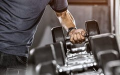 The Dumbbell Push Press: How To Do It & Get Ripped